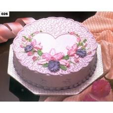 Round Shape Cake -Shumi's