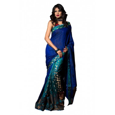 Pretty Party Wear Katan Saree