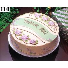 Thank You Cake- Shumi's