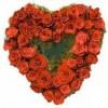 Heart Rose Basket