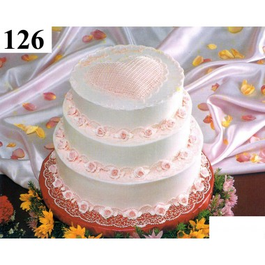 3 Tiar Round Cake