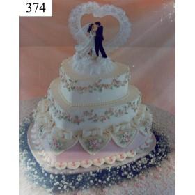 3 Tiar Heart Shape  Cake - Shumi's