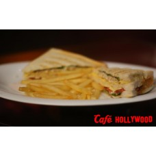 Chicken Salami Sandwich From Cafe hollywoord