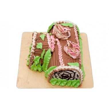 CFC Chocolate Log Cake(1/2 Kg)