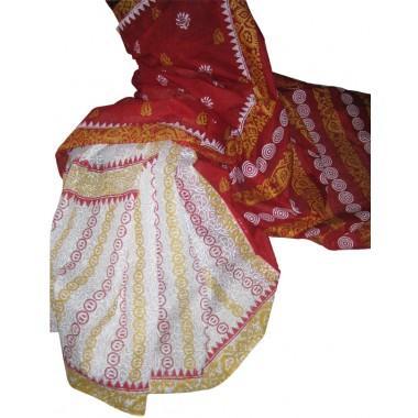 Boishakhi Sharee Cotton cotta