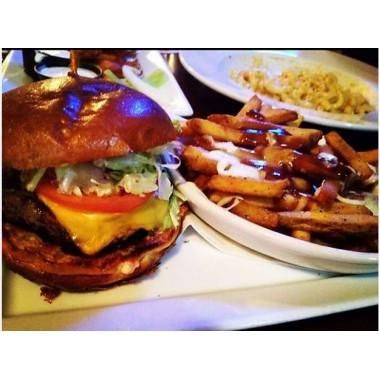 5 inch Smokey BBQ Burger