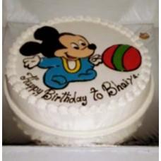 Micky Mouse Cake-2