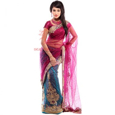 Sharee gift-Lehenga Saree