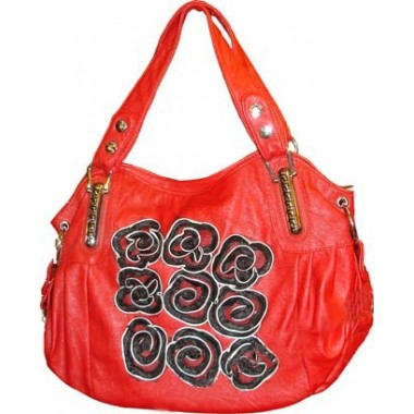 Stylish Red Handbag