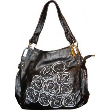 Fashionable Black Handbag