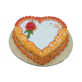 CFC Vanilla Heart Shape Cake (1 Kg)