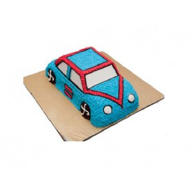 Vanilla Model Car Shape Cake ( 2 Kg)