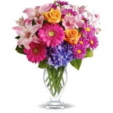 Flower bouquet with mixed flower