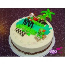 Cartoon Candy Cake birthday gift Bangladesh