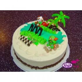 Cartoon Candy Cake birthday gift Bangladesh