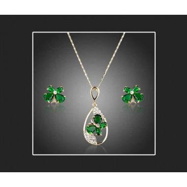 Mother day special Austrain crystal pendant set