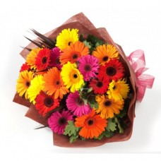 Gerbera flower bouquet birthday gift