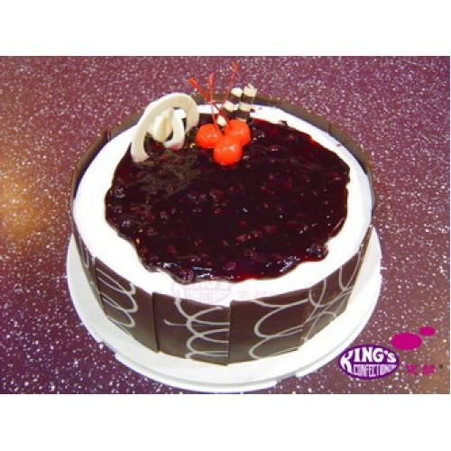 Blue Berry Birthday Cake Gift To Bangladesh