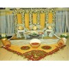 Nice wedding stage decoration service