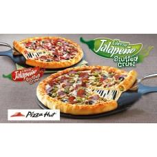 Cheesy Jalapeno Pizza hut
