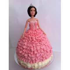 Birthday Princess Cake gift to Bangladesh 1kg