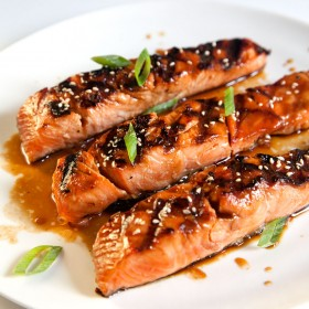 Atlantic SALMON from food factory