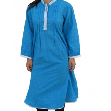 One Pcs Cotton Frock with churider suit