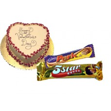 Shumis hot cake and chocolate gift to Valentine