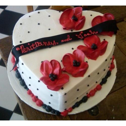 Schön Valentine Day Special Cake Gift Bangladesh