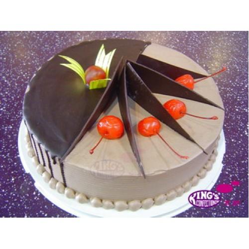 Valentineu0027s Day Special Chocolate Cake Gift Bangladesh