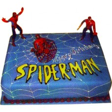 Spider Man Design Cake -  Nutrient Cake & Pastry Shop (2 KG)