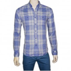 Nice Sky blue Check Shirt for summer