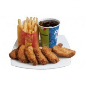 CP Jumbo Set Fried Chicken gift with soft drink Bangladesh