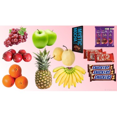 Father's Day Special Fruits & Chocolates Combo