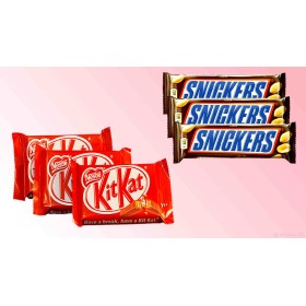 KitKat & Snickers Combo with love