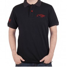 Puma Black T-shirt red logo
