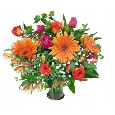 bouquet with  Gerbera rose for valentine day