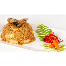 Khao Pad Talay thai food